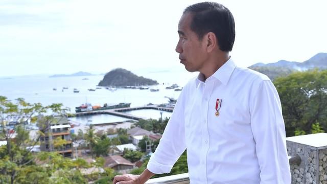 Presiden Joko Widodo, di Labuan Bajo, NTT