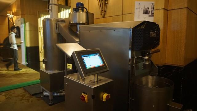com-Mesin roasting  Berto Coffee Roaster yang sudah menggunakan EcoStruxure