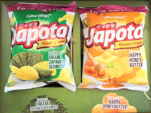 Keripik kentang Japota