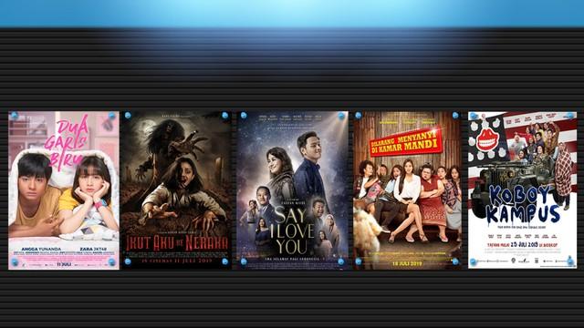 Film-film yang tayang bulan Juli 2019