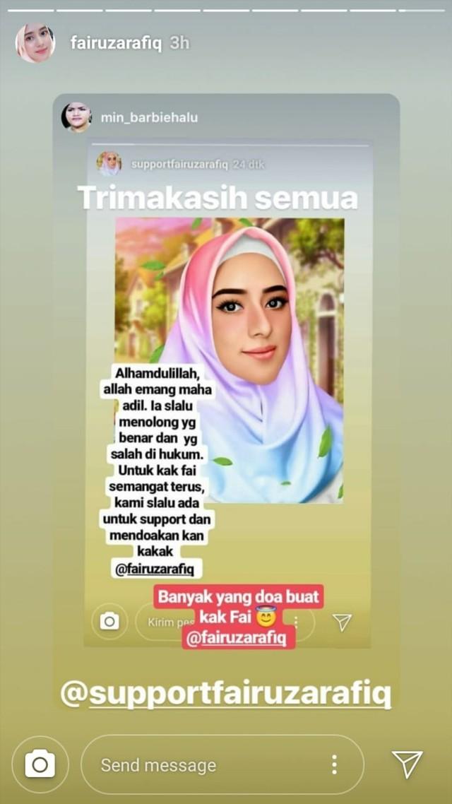 Instagram Stories Fairuz