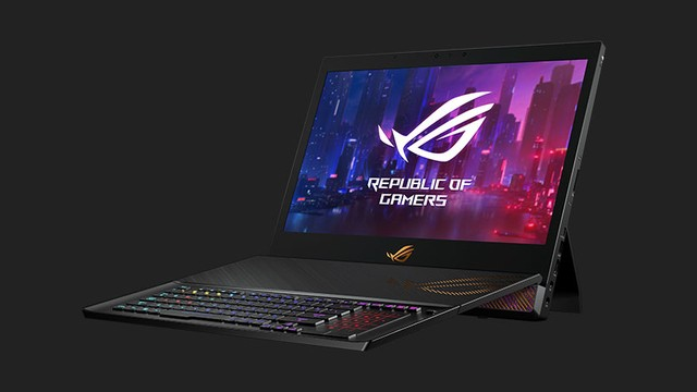 Masuk Indonesia Laptop Gaming Asus Rog Mothership Dijual Rp 131 Juta Kumparan Com