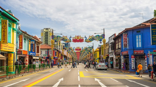 com-Little India, Singapura.