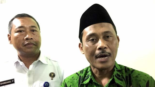 Plt Kakanwil Kemenag Jatim, Mohammad Amin Mahfud, gelaran MoU dengan BNNP Jatim di Kanwil Kemenag Jatim