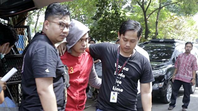 Pablo, Rey Utami, Galih Ginanjar di Polda Metro Jaya