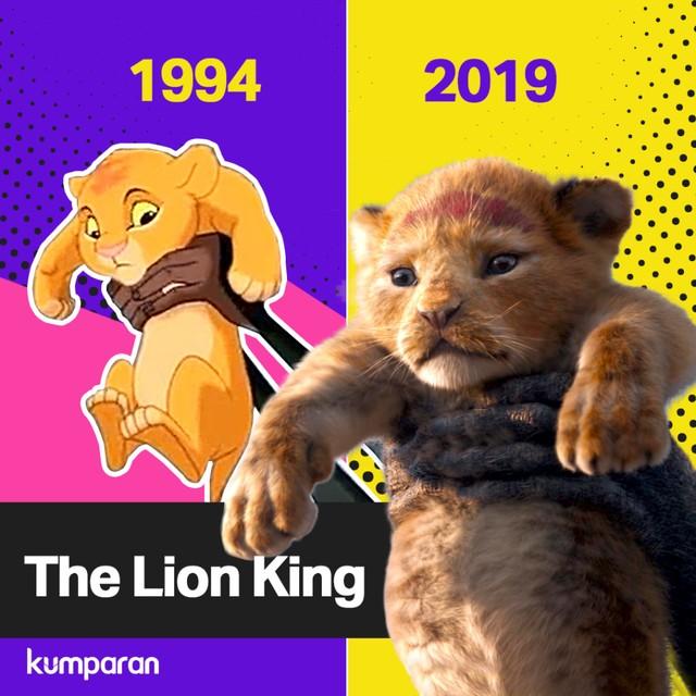 Krispi Komparasi Film The Lion King