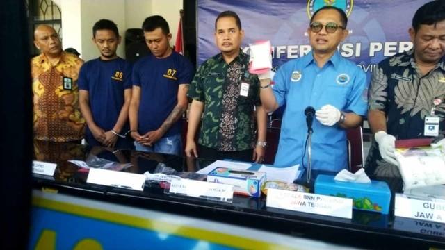 Penyelundupan sabu 200 gram dari Pontianak ke Semarang lewat Pelabuhan Tanjung Mas