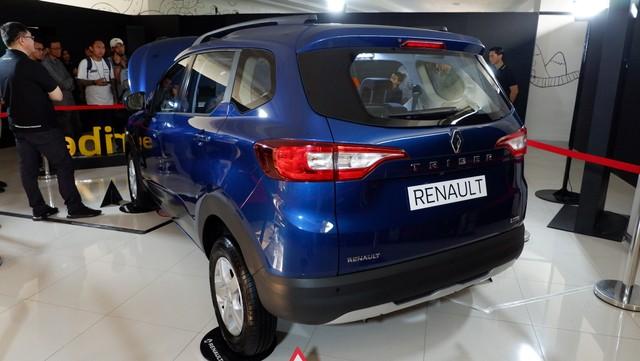 Foto: Renault Triber, MPV Murah Berdarah Prancis Rakitan India (260576)