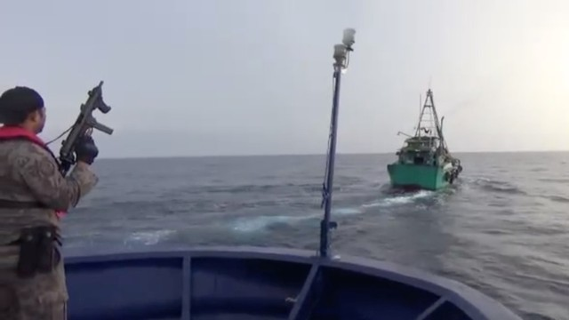 Penangkapan 6 Kapal Ilegal Vietnam