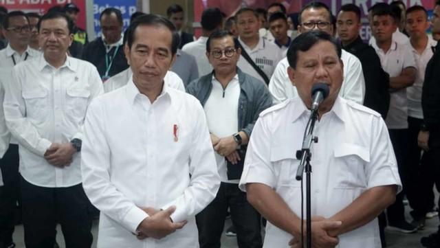 Foto: 80 Menit Pertemuan Jokowi-Prabowo (85656)
