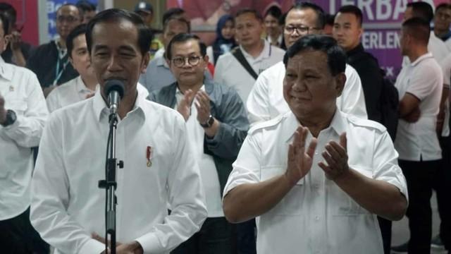 Foto: 80 Menit Pertemuan Jokowi-Prabowo (85655)