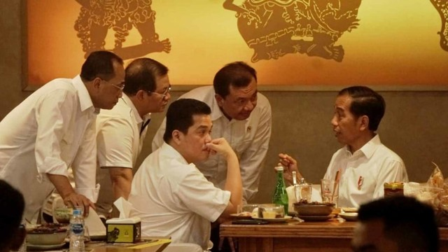 Foto: 80 Menit Pertemuan Jokowi-Prabowo (85670)