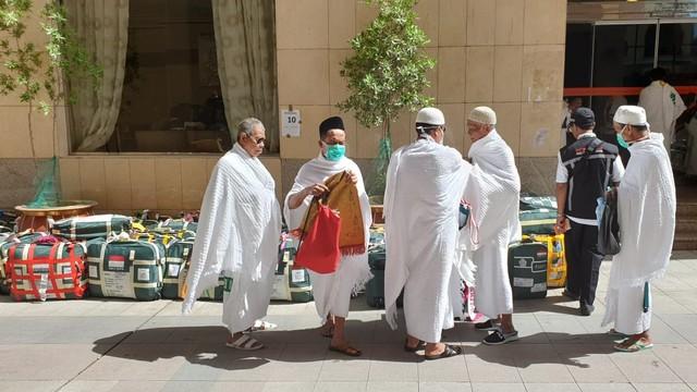 Haji 2019, Persiapan Menuju Mekkah
