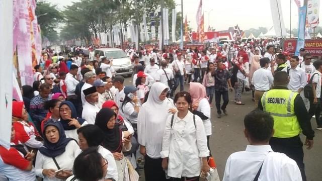 Pendukung Jokowi-Ma'ruf, Sentul International Convention Centre