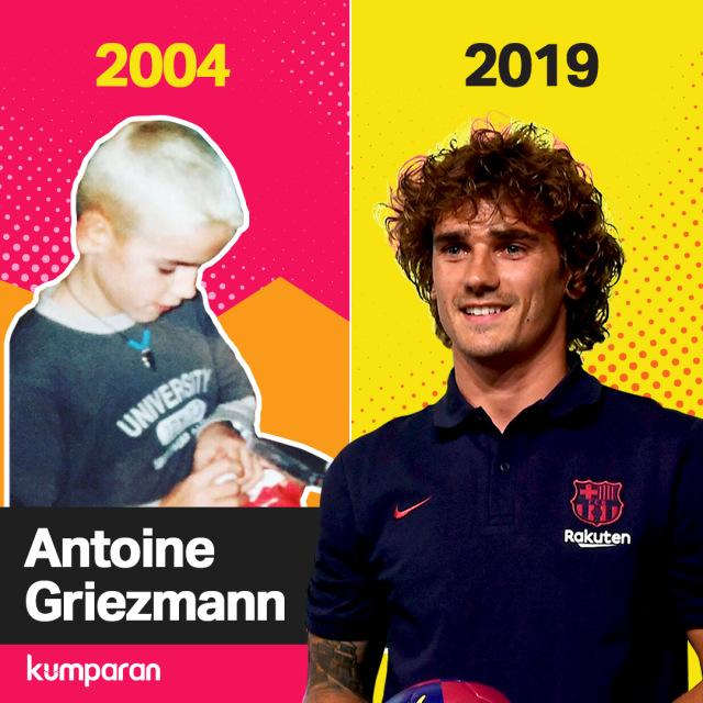 Krispi Throwback Antoine Griezmann