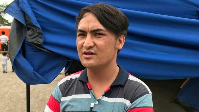 Muhammad Taqi, pengungsi asal Afghanistan