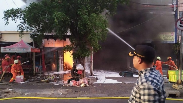 kebakaran di Pondok Labu, Jakarta Selatan