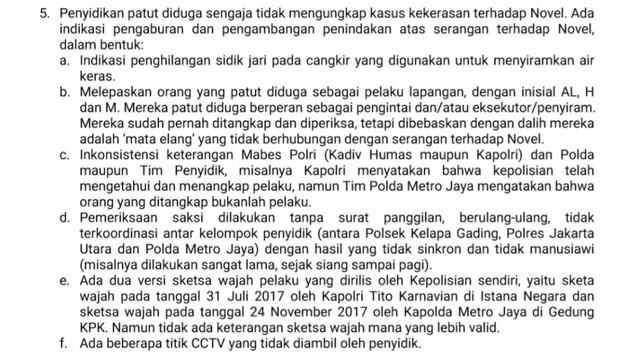 Novel Baswedan: Pak Tito, Kalau Pelaku Tak Terungkap, Keterlaluan (261203)