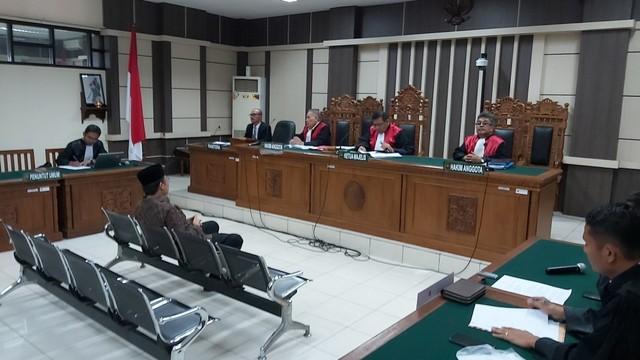 Sidang vonis Wakil Ketua DPR RI Taufik Kurniawan di Pengadilan Tipikor Semarang