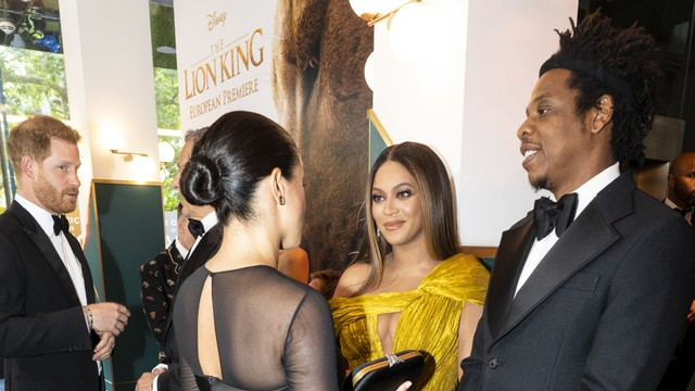 Beyonce, Jay-Z, Prince Harry dan Meghan Markle, The Lion King