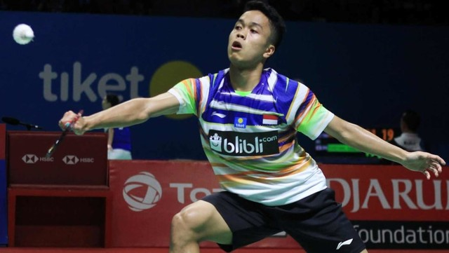 Anthony Sinisuka Ginting, Blibli Indonesia Open 2019