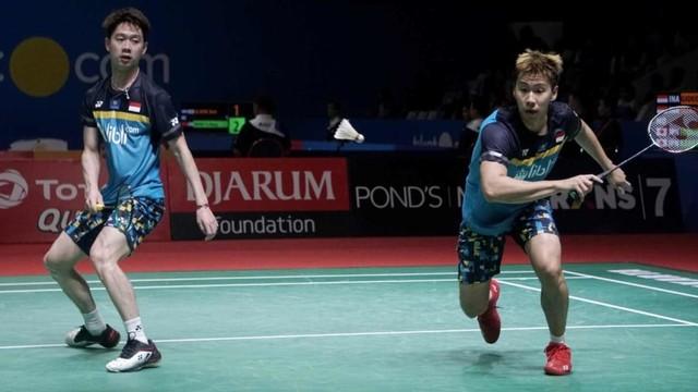 Marcus Fernaldi Gideon, Kevin Sanjaya Sukamuljo, Blibli Indonesia Open 2019