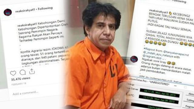 Polisi Tangkap Pemilik Akun Instagram Reaksirakyat1 yang Hina Jokowi (392014)