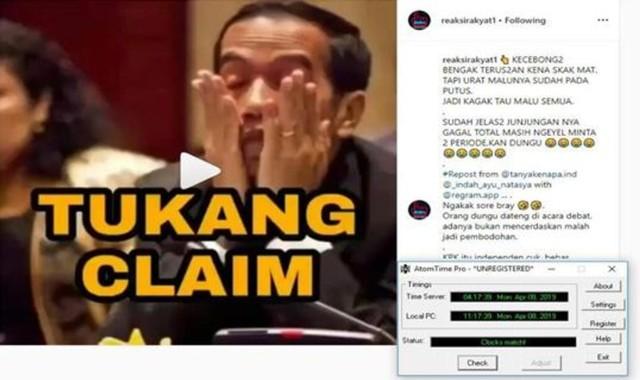 Polisi Tangkap Pemilik Akun Instagram Reaksirakyat1 yang Hina Jokowi (392015)