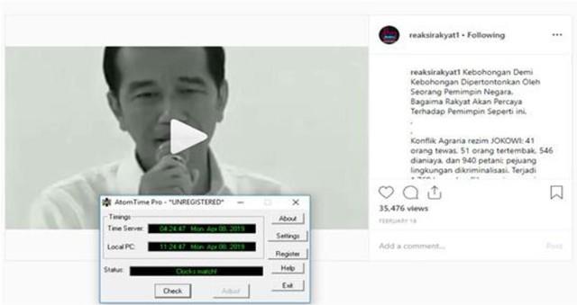 Polisi Tangkap Pemilik Akun Instagram Reaksirakyat1 yang Hina Jokowi (392016)
