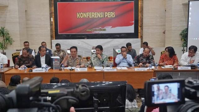 Konferensi Pers Hasil Kerja TGPF Kasus Penyerangan Novel Baswedan.