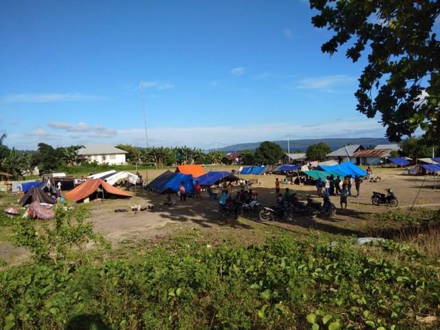 Pengungsi Korban Gempa Halmahera Selatan Bertambah Jadi 53.423 Jiwa (128437)