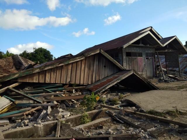 Pengungsi Korban Gempa Halmahera Selatan Bertambah Jadi 53.423 Jiwa (128438)