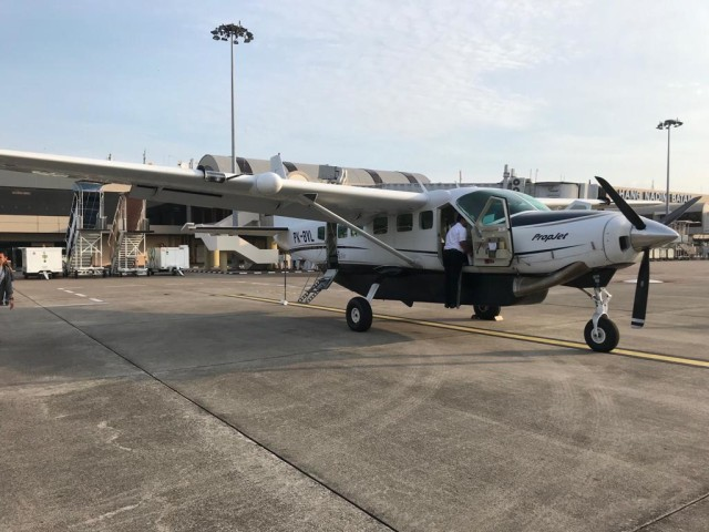 Begini Serunya Terbang Batam - Anambas Naik Pesawat Mini Susi Air (96922)