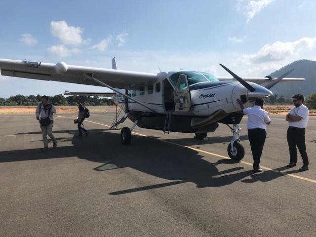 Begini Serunya Terbang Batam - Anambas Naik Pesawat Mini Susi Air (96926)