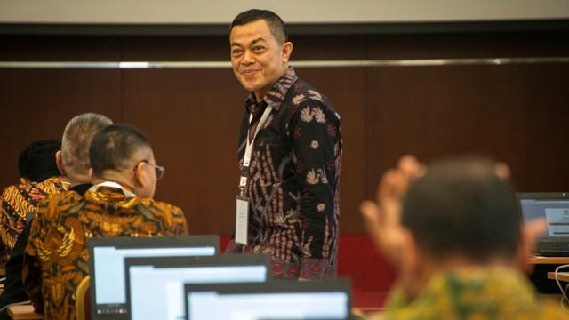 uji kompetensi seleksi calon pimpinan KPK, Wakil Kepala Bareskrim (Wakabareskrim) Irjen Pol Antam Novambar