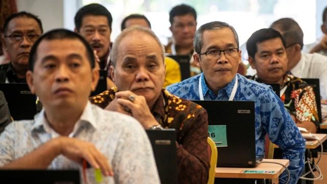 uji kompetensi seleksi calon pimpinan KPK, Wakil Ketua KPK B Alexander Marwata