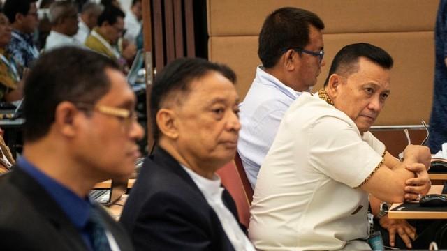 uji kompetensi seleksi calon pimpinan KPK, Staf Ahli Kapolri Irjen Pol Ike Edwin