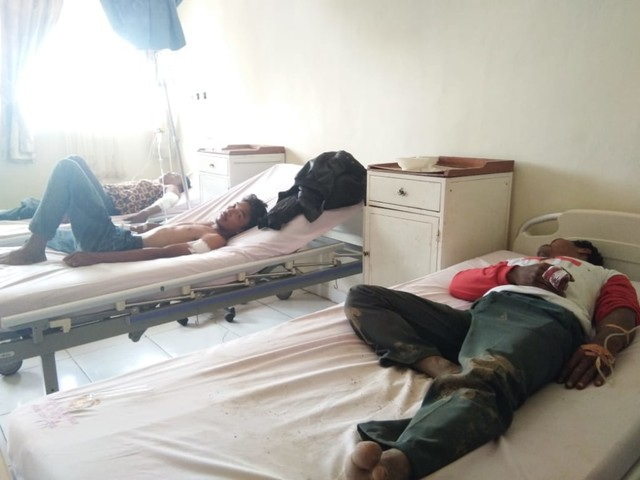7 Korban Bentrok Mesuji Dirawat di RS Bhayangkara Polda Lampung (449430)