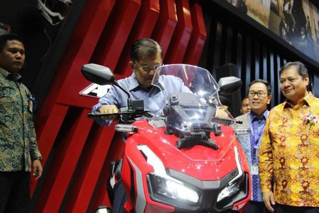 Lebih Dekat dengan Honda ADV 150 yang Meluncur di GIIAS 2019 (58667)