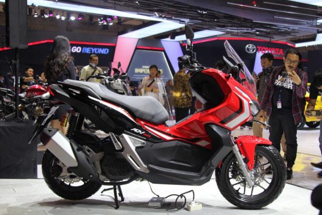 Lebih Dekat dengan Honda ADV 150 yang Meluncur di GIIAS 2019 (58666)