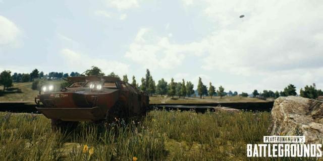 Mobil BRDM-2 di PUBG (PUBG)