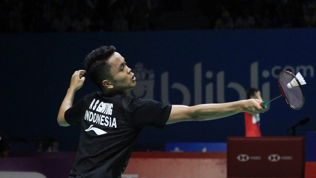 Blibli Indonesia Open 2019, Anthony Sinisuka Ginting