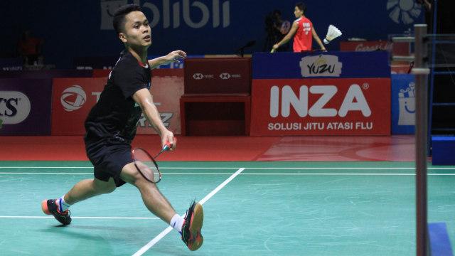 Blibli Indonesia Open 2019, Anthony Sinisuka Ginting