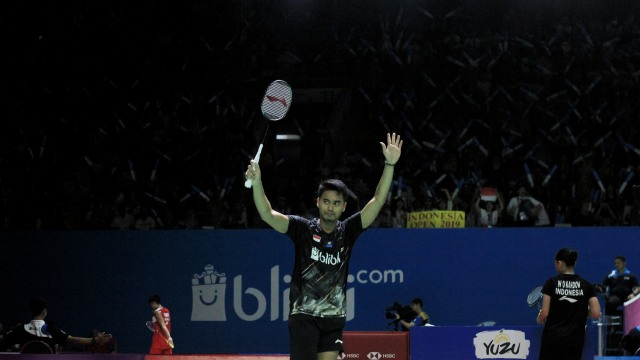 Blibli Indonesia Open 2019, Tontowi Ahmad dan Winny Oktavina Kandow