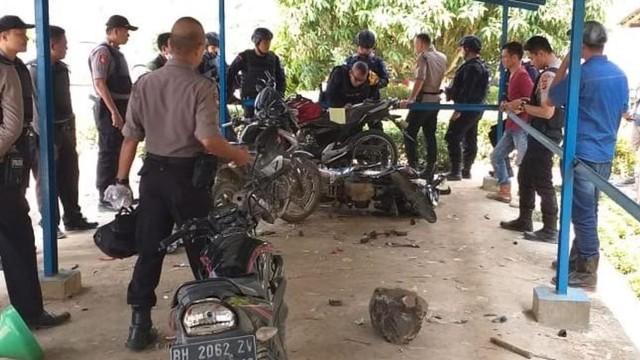 Polisi dan TNI Diserang Kelompok SMB, Pembakar Lahan di Jambi (12042)