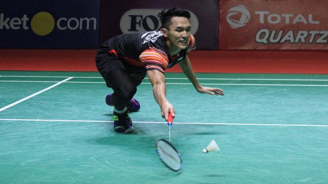 Blibli Indonesia Open 2019, Jonatan Christie