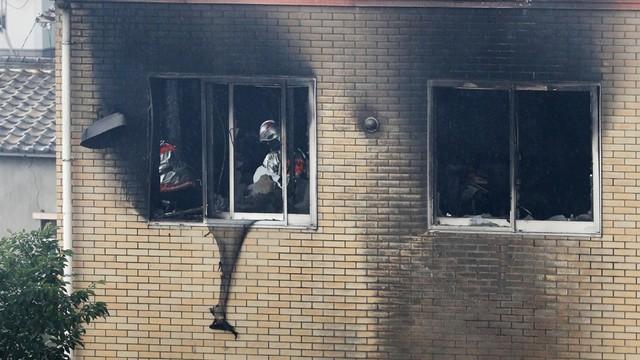 Studio animasi di Kyoto, Jepang dibakar