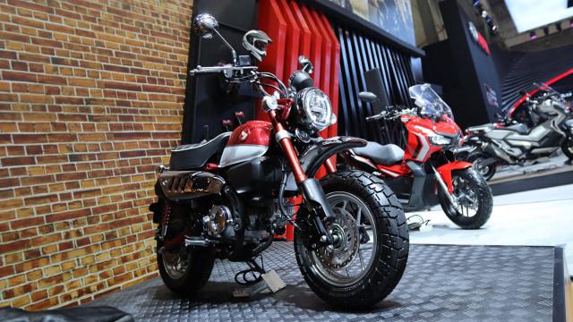 Resmi Dijual, Motor Mungil Honda Monkey Harganya Rp 65 Juta (740568)
