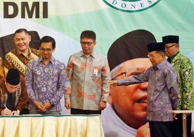 BNI Syariah Tandatangani MoU dengan Anggota Dewan Masjid  (71549)