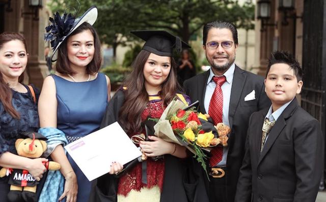Momen keakraban Cut Keke dengan anak dan istri pertama Malik Bawazier